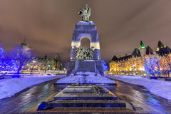 National War Memorial - Ottawa, Canada Royalty Free Stock Photos
