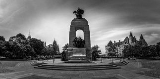 Free National War Memorial, Ottawa Downtown, Ontario, Canada Stock Images - 121578164