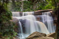 National waterfall   friendship Thailand - Laos Stock Photos