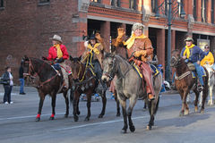 National Western Stock Show Parade Royalty Free Stock Images