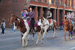National Western Stock Show Parade Royalty Free Stock Photo