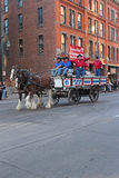 National Western Stock Show Parade Royalty Free Stock Image