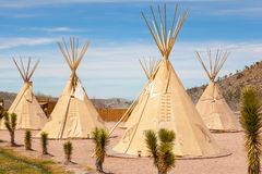 National wigwam of American Indians. Outdoor photography in Nevada, USA royalty free stock image