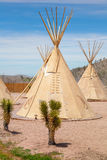 National wigwam of American Indians Stock Image