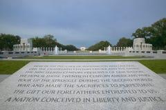 National World War II Memorial stock photo