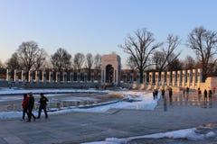 The National World War II Memorial Royalty Free Stock Image