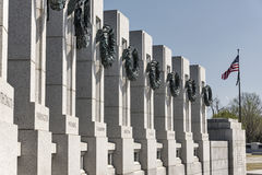 The National World War II Memorial in Washington Royalty Free Stock Images
