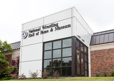 National Wrestling Hall of Fame and Museum at Oklahoma State Uni Royalty Free Stock Images