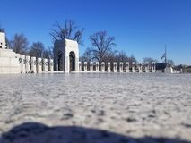 National WW2 Memorial royalty free stock image