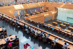 Nationalbibliothek von China Stockbilder