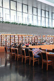 Nationalbibliothek von China Stockbild