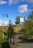 Nationalbibliothek von Weißrussland stockfotografie