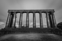 Nationaldenkmal von Schottland Stockbild
