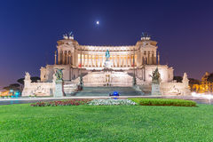 Nationaldenkmal zu della Patria, Rom, Italien Victor Emmanuels II Altare Stockfoto