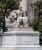 Nationale Archive, die Washington DC aufbauen stockfoto