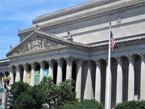 Nationale Archive, Washington DC lizenzfreies stockbild