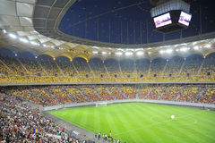 Nationale Arena Bucharest Lizenzfreie Stockfotografie