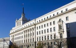 Nationale Assemblage in Sofia, Bulgarije royalty-vrije stock afbeeldingen