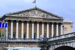 Nationale Assemblage van Frankrijk Stock Afbeeldingen