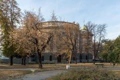 Nationale assemblee van de Republiek in het centrum van stad van Belgrado, Servi? stock afbeeldingen