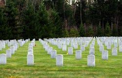 Nationale Begraafplaats Stock Afbeelding