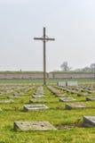 Nationale begraafplaats in Terezin Royalty-vrije Stock Foto