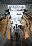 Nationale biblioteque in Kopenhagen Denemarken stock afbeeldingen