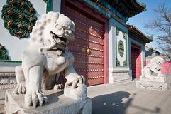 Nationale Bibliotheek van China Stock Afbeelding