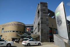 Nationale Bibliothek Lizenzfreies Stockfoto