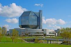 Nationale Bibliothek von Belarus lizenzfreie stockfotos