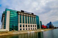 Nationale Bibliothek von Rumänien Lizenzfreies Stockbild