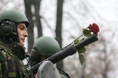 Nationale Dag militaire parade stock afbeeldingen
