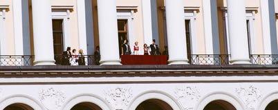Nationale dag in Noorwegen Stock Afbeeldingen