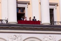 Nationale dag in Noorwegen Stock Afbeelding
