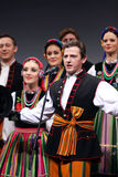 Nationale dansgroep van Polen - Mazowsze royalty-vrije stock foto's