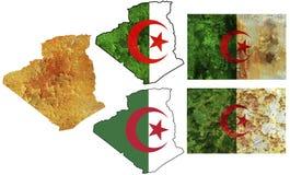 Nationale Elemente für Algerien Lizenzfreies Stockbild