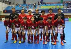 Nationale futsal het teamspelers van Indonesië Royalty-vrije Stock Afbeelding