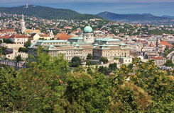 Nationale Galerie Budapest-Stadt Ungarn stockbilder