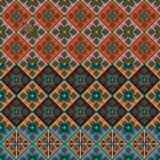 Nationale geplaatste borduurwerk Slavische volkeren Stock Foto's