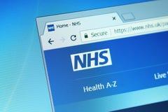 Nationale Gezondheidsdienst, NHS royalty-vrije stock afbeeldingen