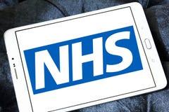 Nationale Gezondheidsdienst, NHS, embleem stock foto