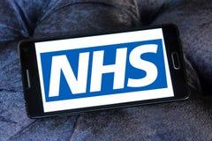 Nationale Gezondheidsdienst, NHS, embleem royalty-vrije stock afbeelding
