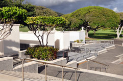 Nationale HerdenkingsBegraafplaats van de Stille Oceaan Stock Foto