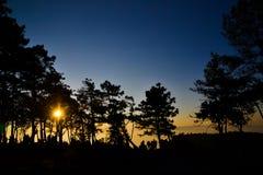 Nationale het Parkachtergrond van Phuruea Stock Foto