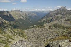 Nationale het parkbergen van Ergaki royalty-vrije stock afbeelding