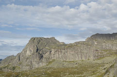 Nationale het parkbergen van Ergaki. Slaap Sayan royalty-vrije stock fotografie