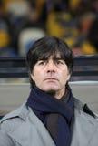 Nationale het team hoofdbus Joachim Low van Duitsland Royalty-vrije Stock Afbeeldingen