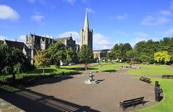Nationale Kathedrale und Collegekirche des Heiligen Lizenzfreie Stockfotografie