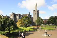 Nationale Kathedrale und Collegekirche des Heiligen Stockbild