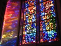 Nationale Kathedrale Windows lizenzfreies stockfoto